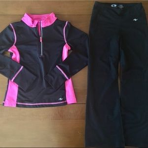 Girl's 6x exercise outfit